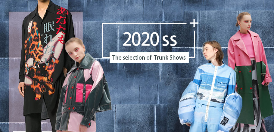The selection of S/S 2020 Trunk Shows