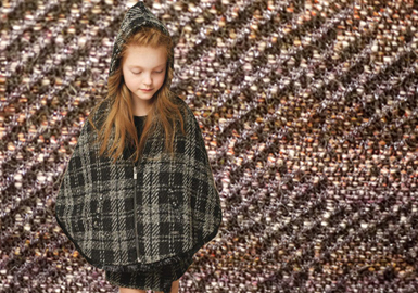 18/19 A/W Fabric Trend Forecast for Kidswear -- Power of Nature