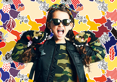 18/19 A/W Pattern & Craft for Girls' Wear -- Noisy Metamorphosis: Urban Camouflage