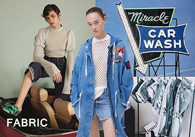 18/19 A/W Womenswear Fabric -- Denim Fantasy
