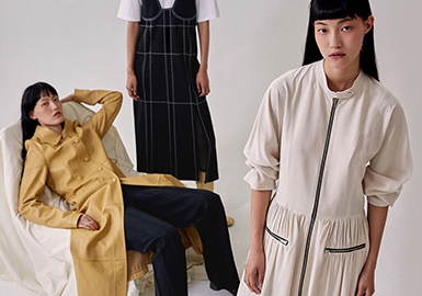 2019 S/S Silhouette for Womenswear -- Trench Coat