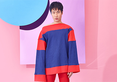 2019 S/S Cutting Process for Menswear -- Color-blocking & Splicing