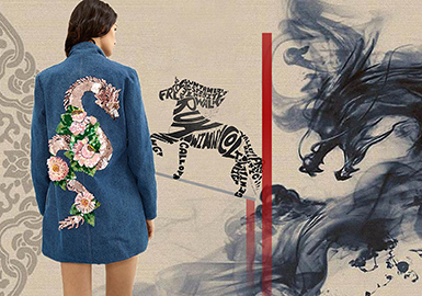 2019 S/S Craft for Womenswear -- Vigor of Dragon and Horse