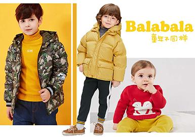 17/18 A/W Kidswear Benchmark Brand -- Balabala