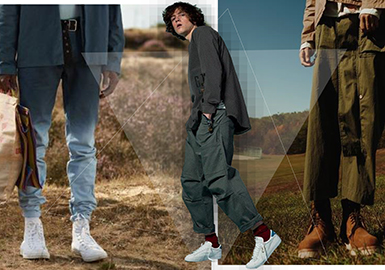 2018 S/S Men's Trunk Show -- Trousers