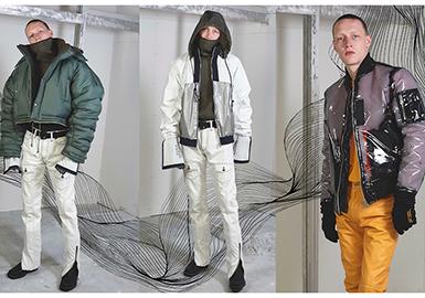 2017 A/W Tokyo Retail Market -- Men's Jacket