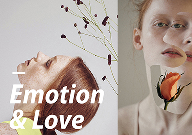 2019 S/S Color for Womenswear -- Emotion & Love