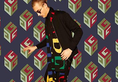 18/19 A/W Knitwear in Men's Trunk Show -- Directional Pattern