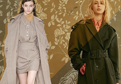 18/19 A/W Women's Styling -- Trench Coat