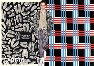 2019 S/S Fabric for Menswear & Womenswear -- Power of Walking: Retro Check