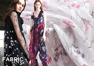 2018 Pre-fall Dress Fabric -- Printed Fabric & Jacquard Fabric