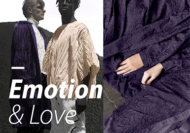 2019 S/S Color for Menswear -- Emotion & Love