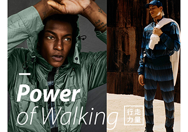 2019 S/S Color Trend for Menswear -- The Power of Walking