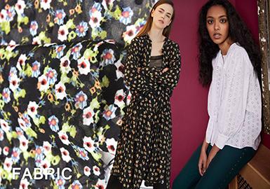 2018 Pre-fall Fabric Trend for Women's Shirt -- Fairy Chiffon
