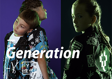 2019 S/S Kidswear Color Trend -- Generation Y