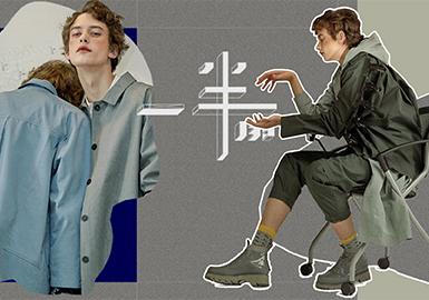 2019 S/S Menswear Benchmark Brand -- Croquis (Living Lab)