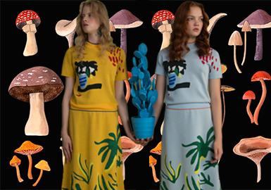 2019 S/S Pattern for Womenswear -- Fantastic Forest