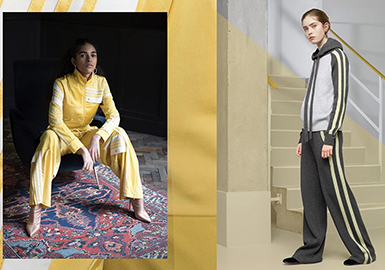 18/19 A/W Womenswear Profile Trend -- Sport Suit