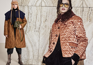 19/20 A/W Craft Trend for Womenswear -- Quilted Coat