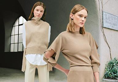 2018 S/S Women's Benchmark Brand -- Simple & Sophisticated Knitwear