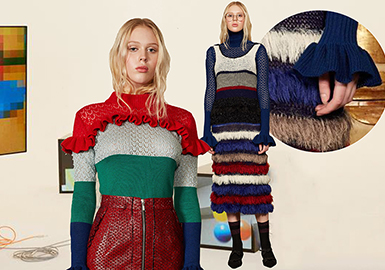 19/20 A/W  Womens' Knitwear -- Exquisite Detailing