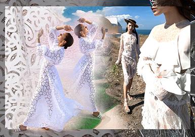 2020 S/S Womenswear Lace Fabric -- Holiday Romance