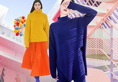 19/20 A/W Women's Knitwear -- Color Trend