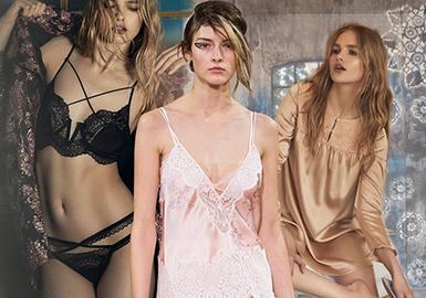 19/20 A/W Women's Lingerie -- Lace Bra