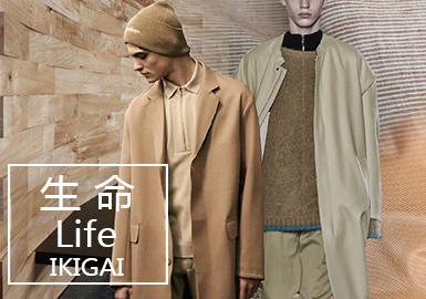 19/20 A/W Menswear Fabric Trend Forecast -- Life• IKIGAI