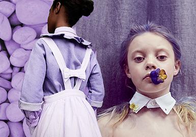 19/20 A/W Color for Kidswear -- Purple