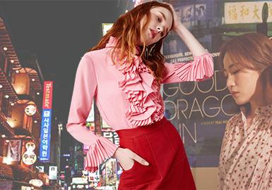 2018 S/S Womenswear at Korean Wholesale Market -- Femininity