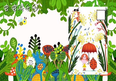 2019 S/S Pattern for Kidswear -- Insect Garden