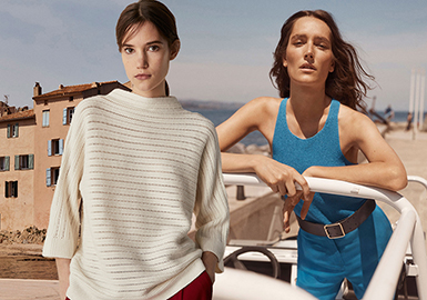 2018 S/S Benchmark Brand for Women's Knitwear -- Massimo Dutti