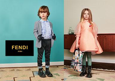 2019 S/S Kidswear Brand Analysis -- Fendi