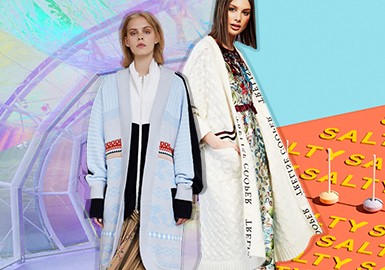 19/20 A/W Silhouette Trend for Women's Knitwear -- Diverse Cardigans