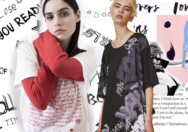 2020 S/S Pattern Trend Forecast -- Play with Letters