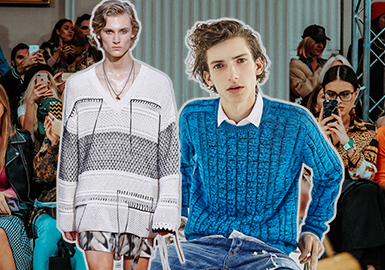 2019 S/S Men's Knitwear on Catwalks -- Fine Stitches