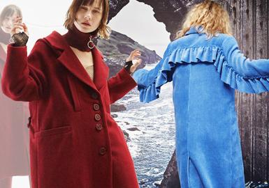 18/19 A/W Womenswear Designer Brand -- Sophisticated Coat