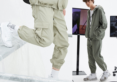 S/S 2020 Silhouette Trend for Menswear -- Functional Trousers