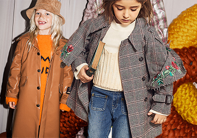 Smart Girl -- 19/20 A/W Girls' Clothing Collocation: Outerwear