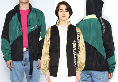 Athleisure Jacket -- 2018 S/S Men's Hot Items