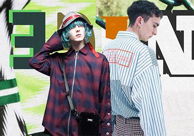 Fashion Shirt -- 18/19 A/W Menswear Designer Brand