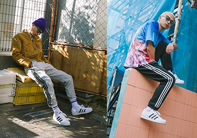 Smart Causal Sweatpants -- 2020 S/S Silhouette Trend for Menswear