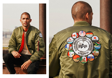 Bomber & Baseball Jacket -- 19/20 A/W Men's Clothing Collocation