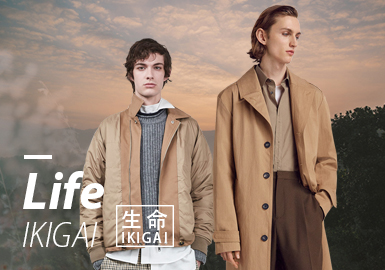 Life ▪ IKIGAI (Key Color) -- 19/20 A/W Color Trend for Menswear