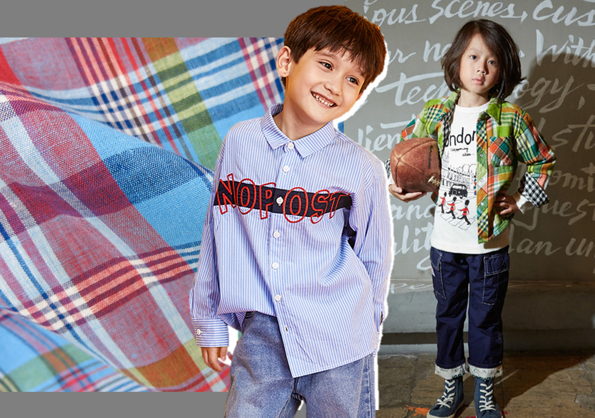 Chic Style -- 2020 S/S Fabric Trend for Boys' Shirt