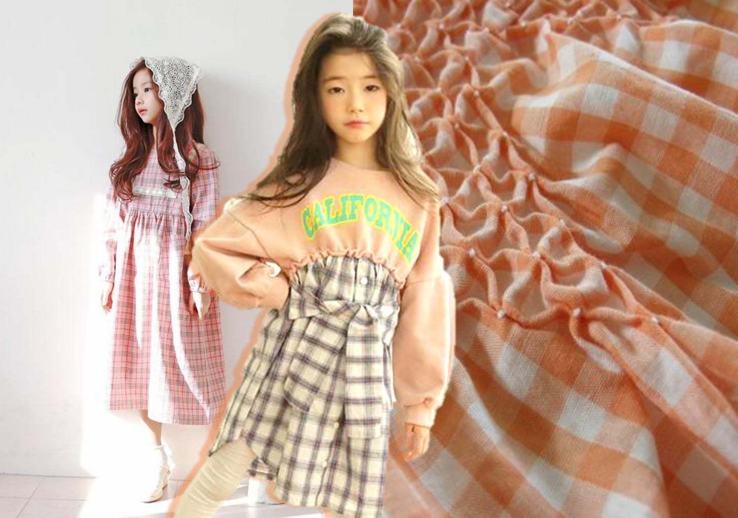 Cotton & Linen -- 2020 S/S Fabric Trend for Kids' Dress