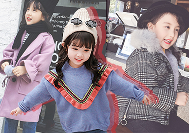 Hot Items -- 18/19 A/W Analysis of Guangzhou Market for Girls' Wear