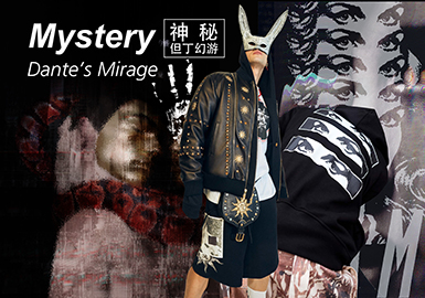 Mystery · Dante's Mirage -- 19/20 A/W Pattern Trend for Menswear