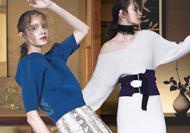 Murua -- 18/19 A/W Women's Knitwear of Designer Brand